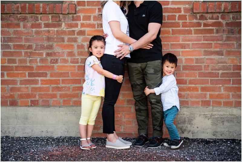 Calgary Downtown Family Photography