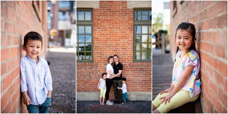Calgary Downtown Family Photos