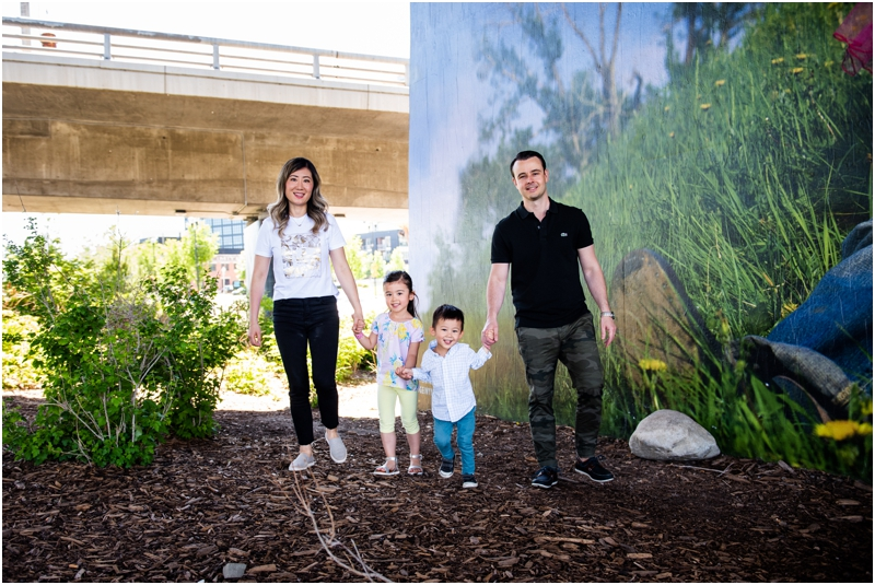 Calgary East Village Family Photos