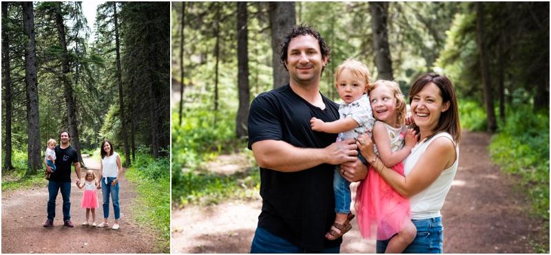Calgary Summer Family Session - Shannon Terrace Fish Creek Park