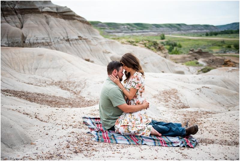 Engagement Photographer Drumheller Badlands