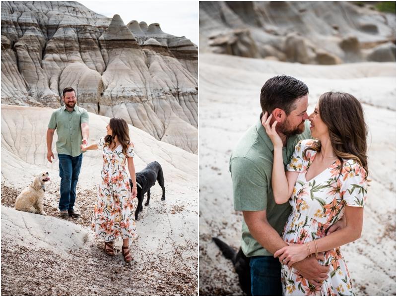 Engagement Photos Drumheller Alberta