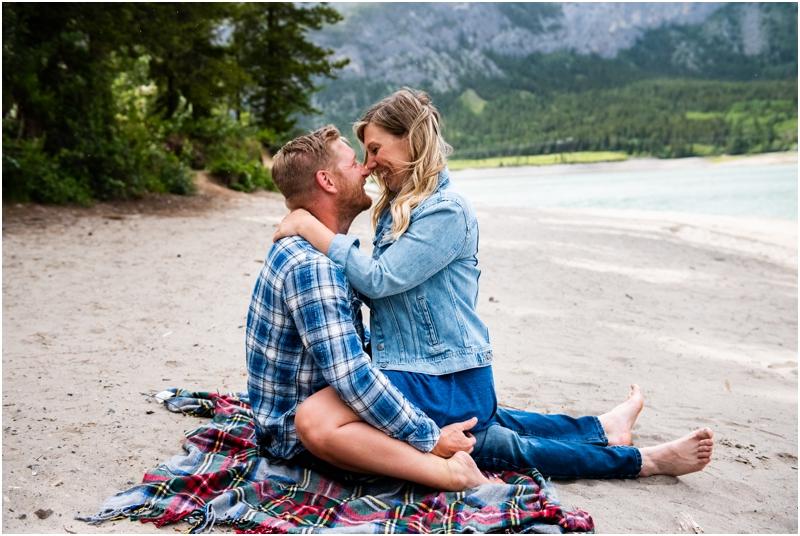 Kananaskis Engagement Photographers - Barrier Lake