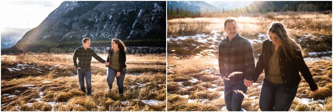 Calgary Engagement Photographer - Kananaskis Adventure Engagement Photos