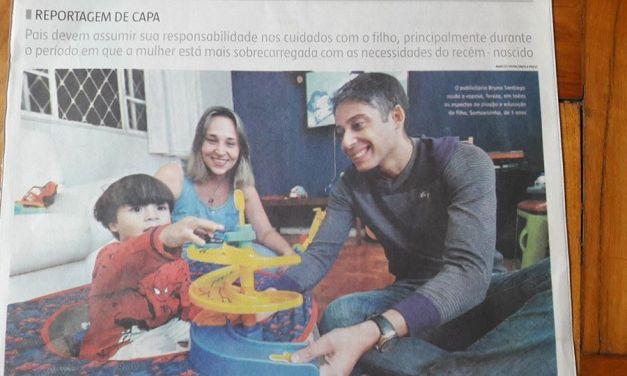 Comunidade Pai tem que fazer de tudo no Jornal Estado de Minas