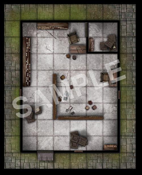 paizocom  GameMastery Map Pack City