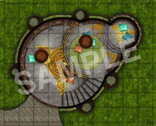 paizo com GameMastery Map Pack: Elven City