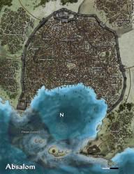 Absalom Fantasy world map Fantasy city map Fantasy city