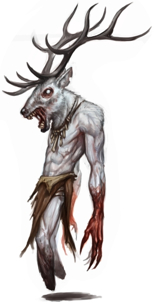 Image result for wendigo art pathfinder