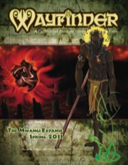 Wayfinder 4 free fantasy magazine for Paizo's pathfinder setting