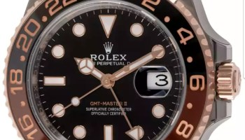 Pajak Rolex ( Pawn Rolex ) GMT-Master II 'Root Beer'