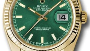 Pajak Rolex Yellow-Gold-Day-Date-118138GRL18K-Box-Card RM38,000