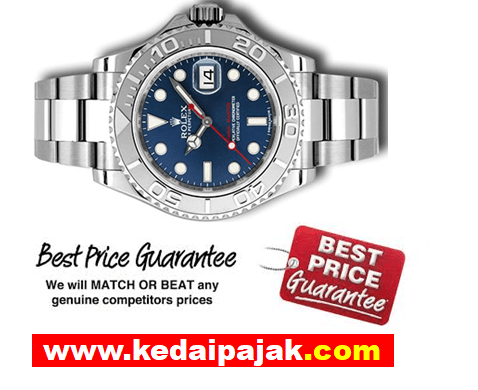 Pajak Rolex Yacht-Master Dengan RM25,000