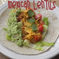 Tasty Mexican Lentils