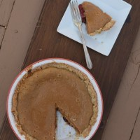 Fantastical Food Fight: Baked PB + J Pie