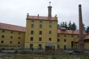 Monastery in Plasy. This is the brewery