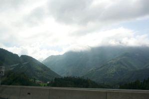 A bit cloudy but nice