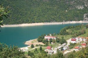 View over Pluzine, Montenegro
