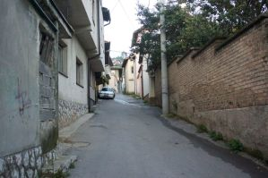 Widest street of old city @Sarajevo