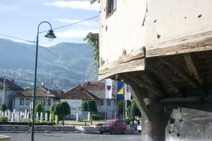 The wounds in Sarajevo has not healed yet