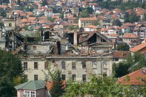Former Jugoslavian military HQ