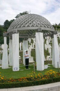 Bosnias first president is buried here