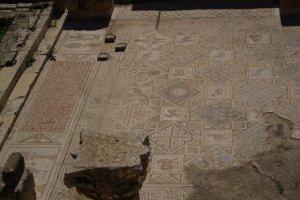 Jerash - grym mosaik