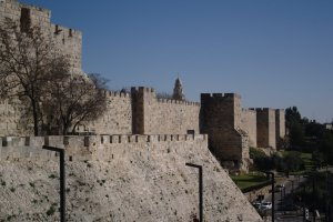 City wall Jerusalem