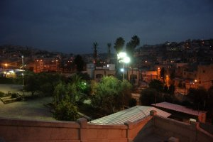Hebron by night