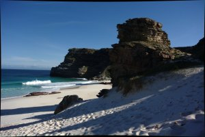 the beach at Cape of Good Hope