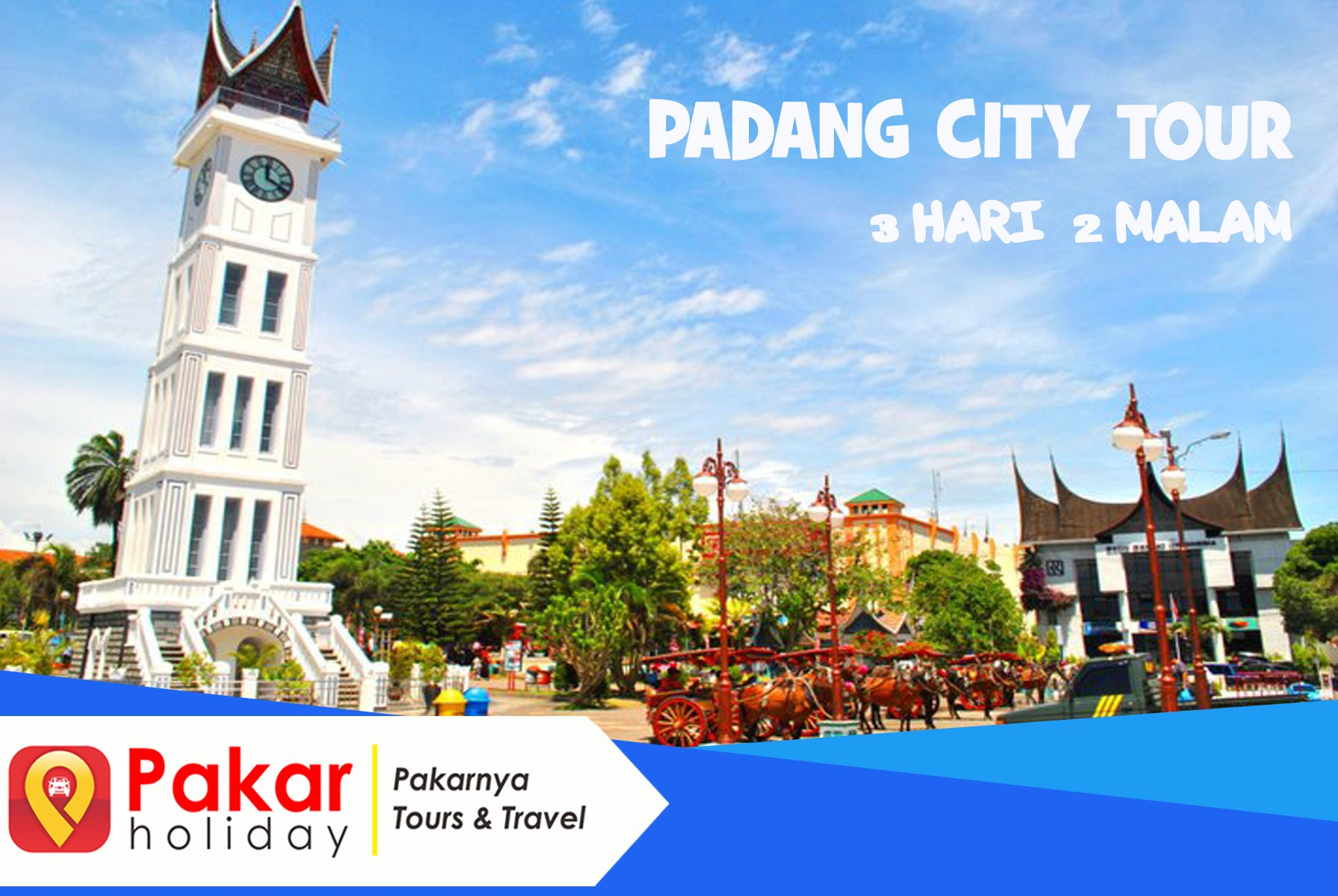 PADANG CITY TOUR