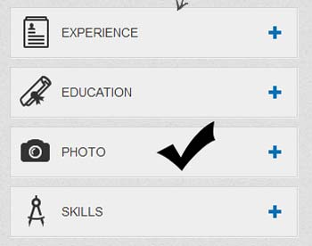 Klik photo untuk menambahkan photo di profil linkedin  Cara menambahkan photo untuk profil LinkedIn Klik photo untuk menambahkan photo di profil linkedin