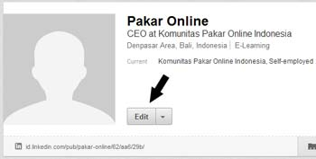 edit profil linkedin  Cara menambahkan photo untuk profil LinkedIn edit profil linkedin