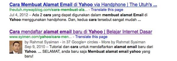 cara membuat alamat email yahoo kata kunci Pengertian keyword atau kata kunci cara membuat alamat email yahoo