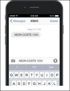 Semak baki pinjaman AEON Credit SMS Online
