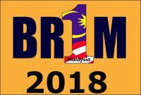 Tarikh Pembayaran BR1M 2018