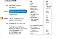Beli Pin UPU guna BSN SMS
