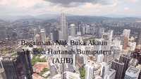 Buka Akaun AHB 2018