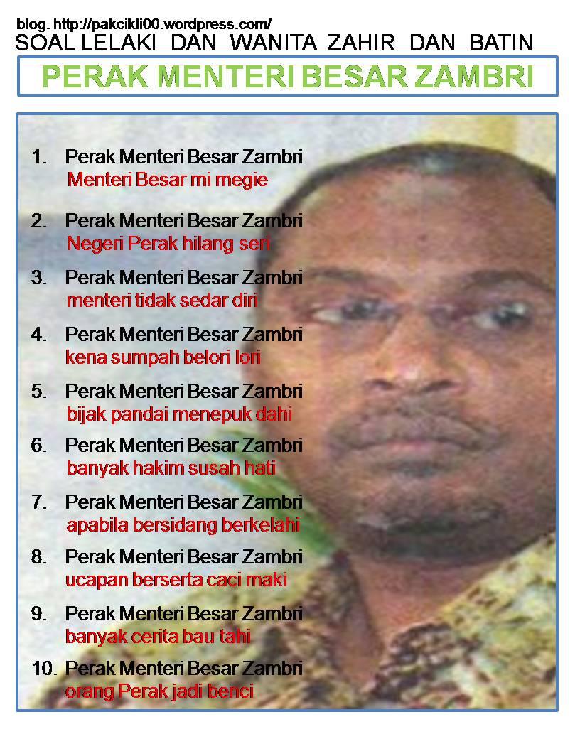 Perak Menteri Besar Zambri_NIZAR News