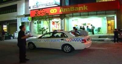 Polis Siasat Suspek Kes Tembak Pegawai Bank