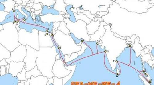 SMW4 submarine cable