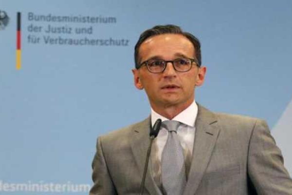 Menteri Kehakiman Jerman Heiko Maasjpg