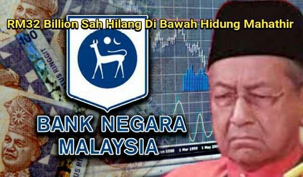 Mahathir Benar-benar Ketakutan Dengan Laporan RCI Ke Atas Skandal Forex BNM