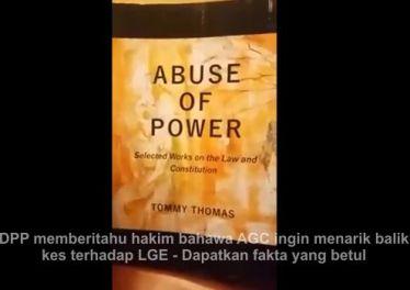 [Video] DPP memberitahu hakim bahawa AGC ingin menarik balik kes terhadap LGE - Dapatkan fakta yang betul