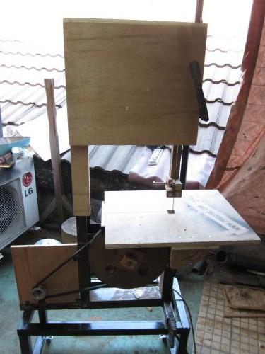 Membuat Gergaji Mesin Sendiri : membuat, gergaji, mesin, sendiri, Membuat, Bandsaw, (Mesin, Gergaji, Pita), Pakeotac
