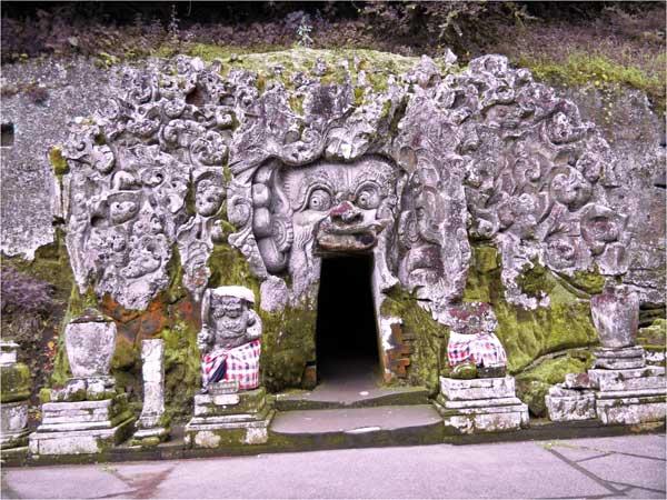 Pura Goa Gajah Simbol Akulturasi Hindu Buddha  Paket