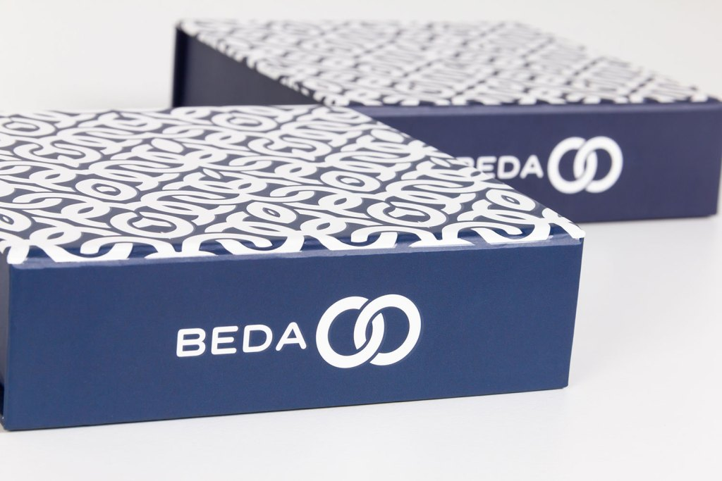 Custom boxes for Beda Beads.