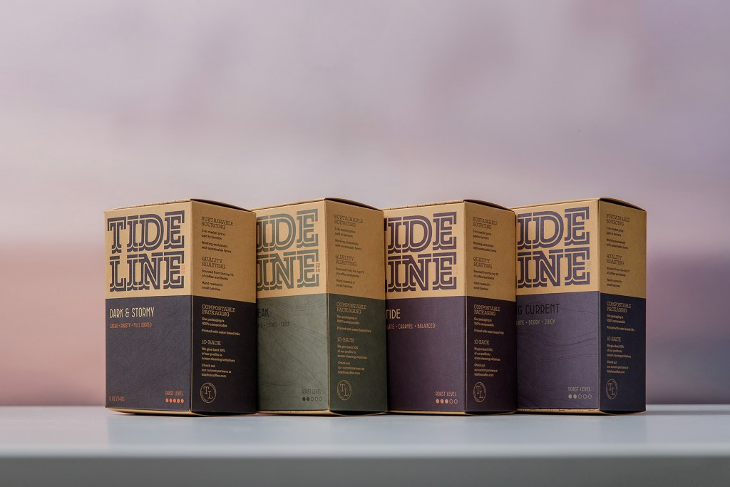 tideline coffee product line