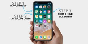 How to force restart iPhone x