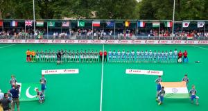 Photos from Pakistan vs India game in Hockey World League